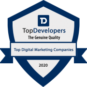 Digital marketing badge - 2020